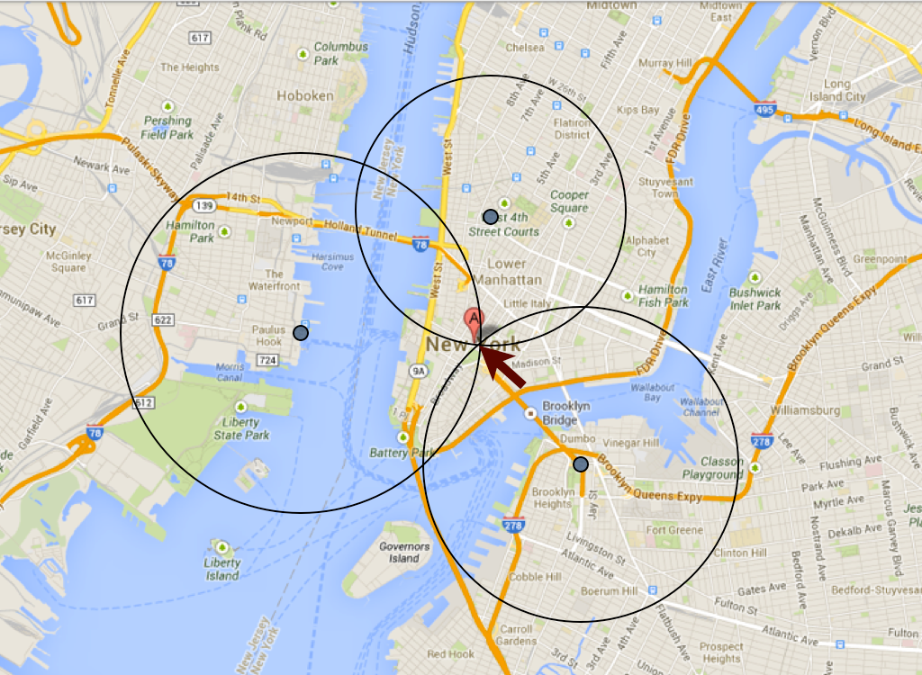 Gps Address Locator : Quot lost in tracking or why mobile gps is inaccurate
